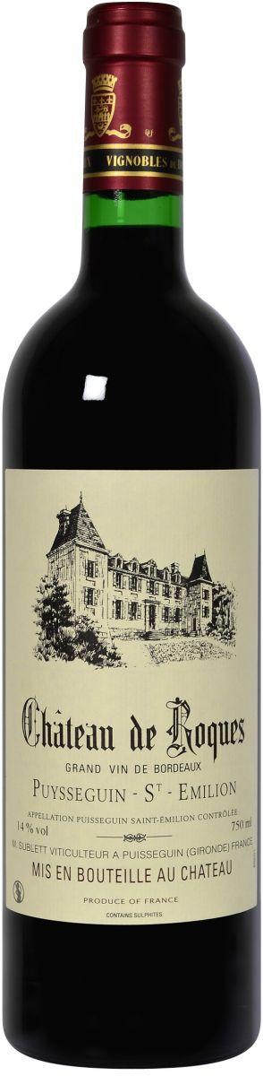 chateau de roques 2012 puissequin saintemillion