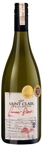 marlborough saint clair sauvignon blanc pioneer block2 2013 nieuw zeeland